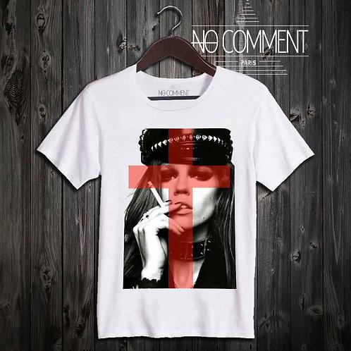 t shirt glam rock-girl réf: TEND11C