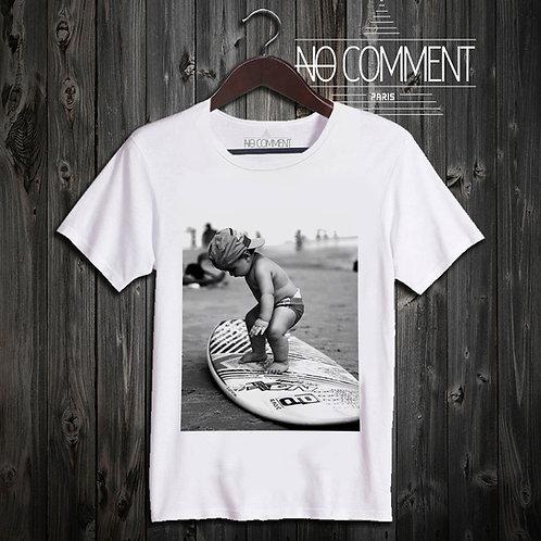 t shirt kid surfing  ref: KID05