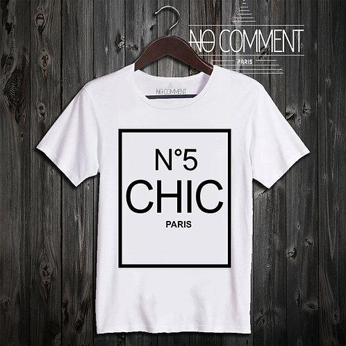 t shirt N°5 chic ref: SOFT04