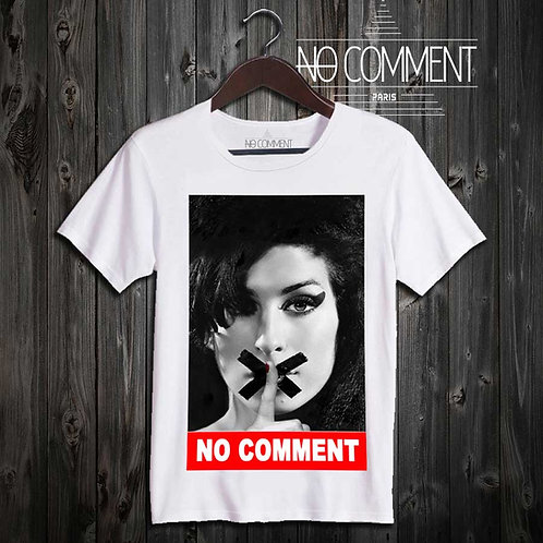 t-shirt imprime-amy winehouse réf: LEG04