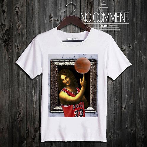 T shirt jean batiste basket NCP60