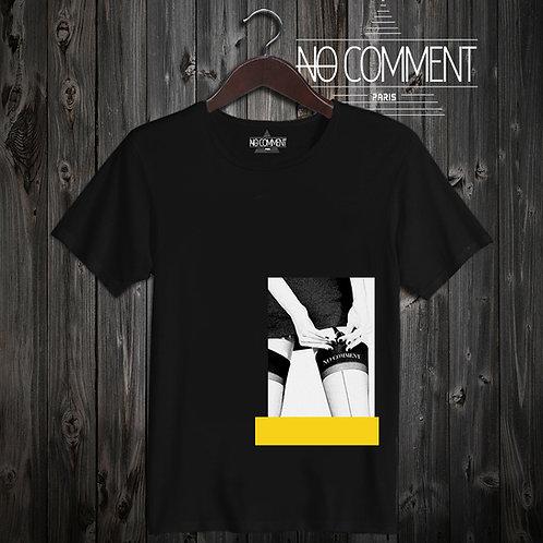 t shirt yellow garter  ref: LTN183