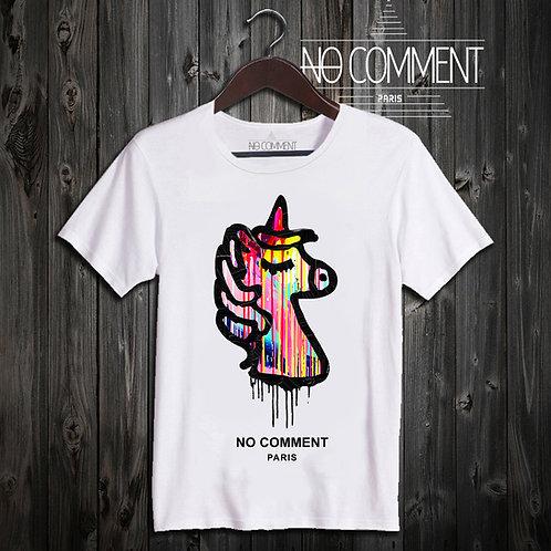 t shirt paint unicorn ref: NCP335