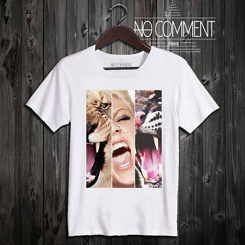 t shirt chanteuse Pink-Panthers réf: TEND14
