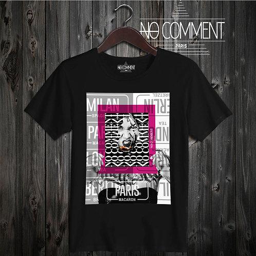 t shirt  macaron de Paris ref: NCP07