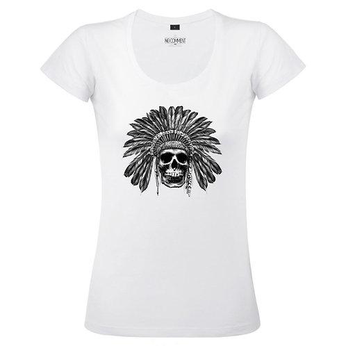 T Shirt imprimé AZTEC SKULL réf:TFUND07