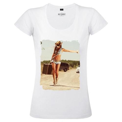 T Shirt imprimé SUITE CASE réf:TFROCK18