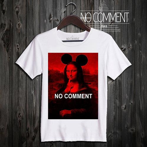 t shirt mona lisa red ref: LTN94