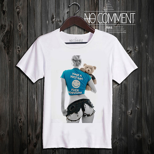 t shirt have nice day ref: SG08