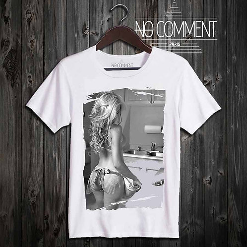 Tee Shirt Sexy pour homme-Kitchen party réf: SG26