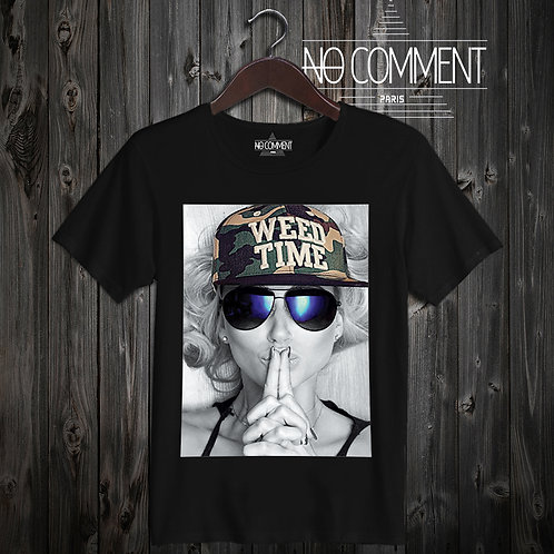 t shirt weed time ref: LTN19
