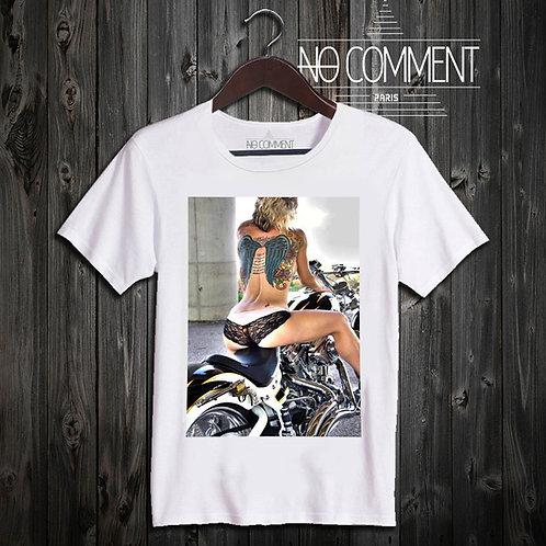 t shirt sexy girl motorbike ref: TAT05