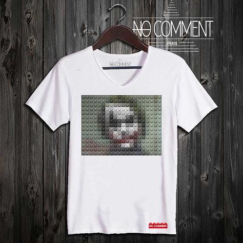 T-shirt Geek, Joker jack LEGO réf: BRICK31