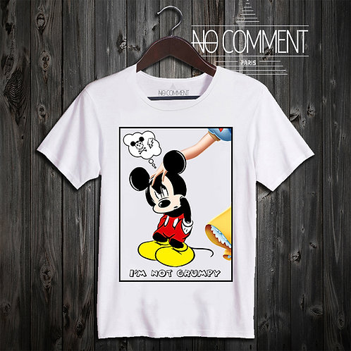 t shirt mickey grumpy ref: CART04
