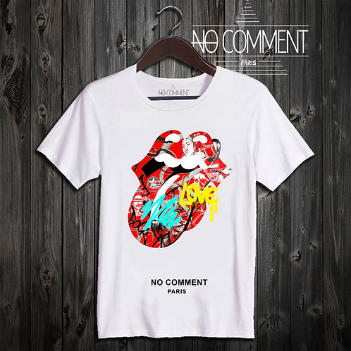t shirt love rock ref: NCP333