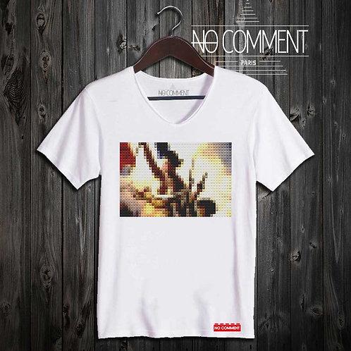 T-shirt Geek, Révolution française réf: BRICK35
