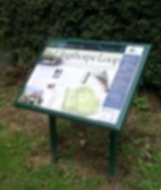Ure Walks interpretation, North Yorkshire