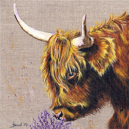 2020 Highland Cow Limited Edition Print
