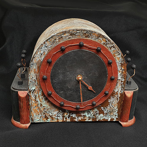 Industrial style timepiece