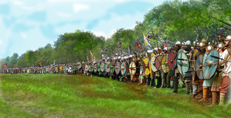 Battle of Carham Shield Wall