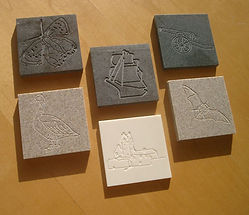 Bespoke rubbing plaques