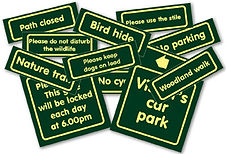 Nature Watch Visitor Management Signs