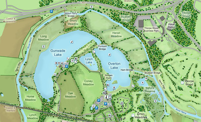 Ferry Meadows Map