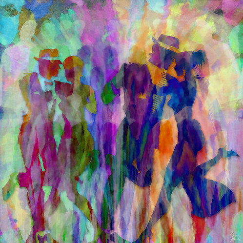 """The Dancers"" Limited Edition Print"