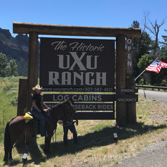 Horseback Riding at The UXU
