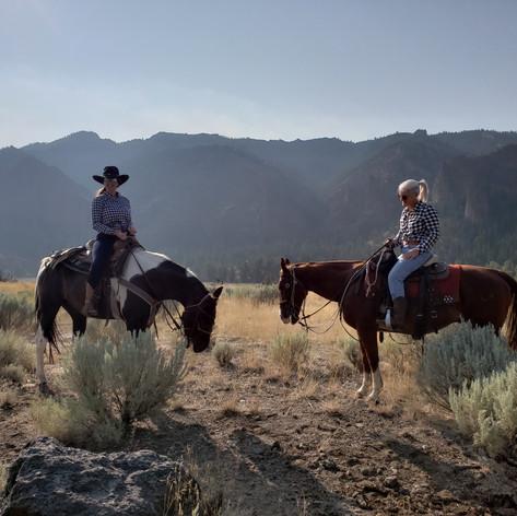 Let's Go Horseback Riding.