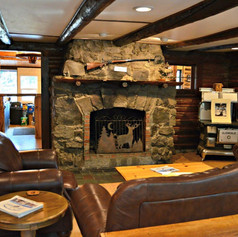 Relax in the Main Lodge
