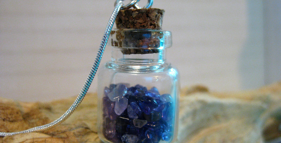 Mini Amethyst Terrarium