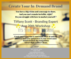 CREATE YOUR IN-DEMAND BRAND
