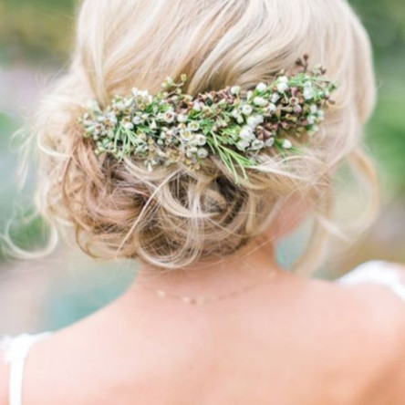 perfect bridal hair updoes