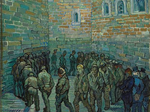 لوحة السجناء