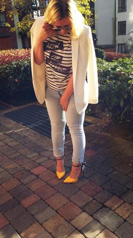 Sporty Look (H&M Blazer)