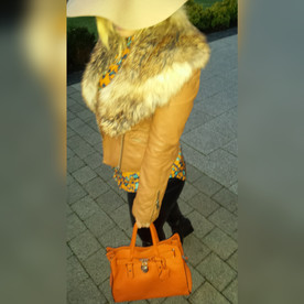 Yesterday's Outfit (Fur Jacket)