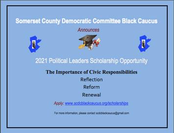 SCDC Black Caucus 2021 Scholarship
