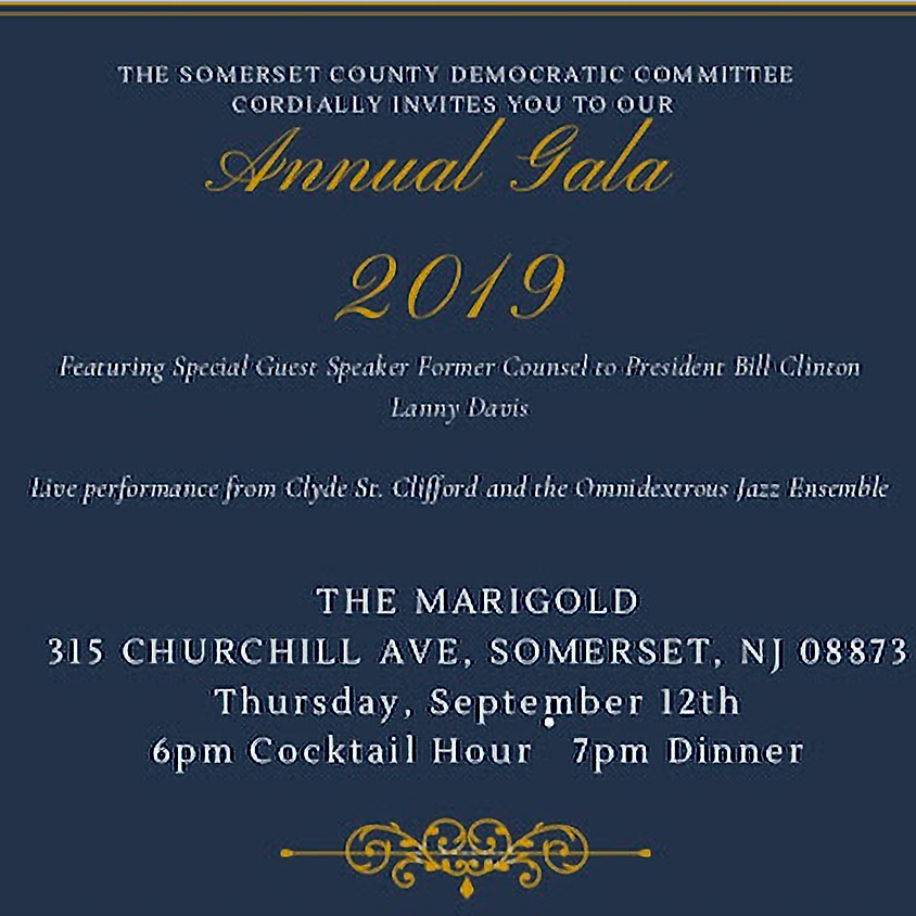 Somerset County Democratic Committee Annual Gala 2019
