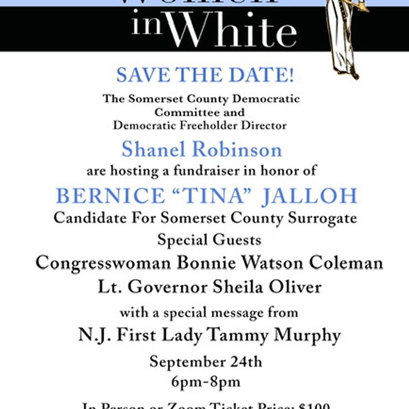 """""""100 Women in White"""" Fundraiser"""
