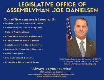 Legislative Office of Assemblyman Joe Danielsen