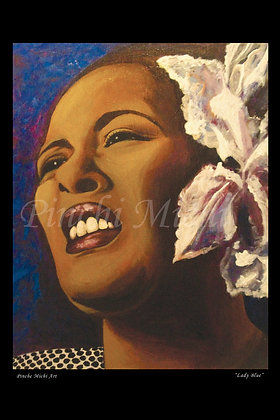 BILLIE HOLIDAY ART POSTER PRINT