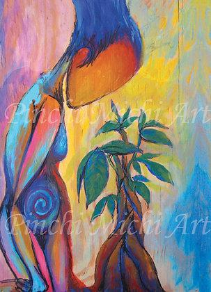 MY LUCKY TREE ART POSTER PRINT