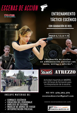 tactical training for actors