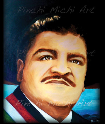 Jose Alfredo Jimenez -SOLD