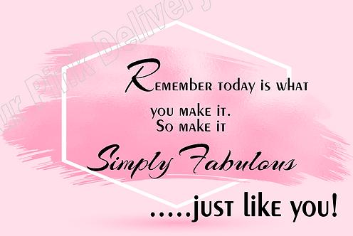 Pink Simply Fabulous
