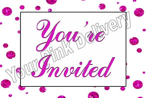 You're Invited - Polka Dot