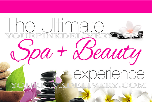 Spa & Beauty Invite