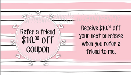 Refer a Friend Pink