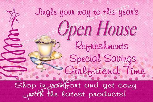 Jingle Open House Purple